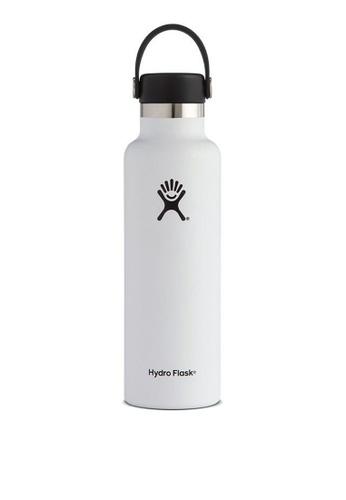 Hydro Flask white Hydro Flask Standard Mouth White - 21OZ 45910AC3E4FADFGS_1