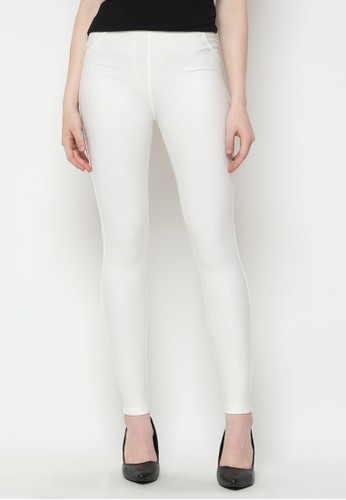 Mobile Power white Legging Long Pants Broken White Mobile Power Ladies - U3305 DF258AA10DAD0BGS_1