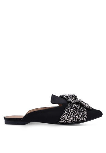 Call It Spring black Arminel Mules 326BDSH7ECEC57GS_1