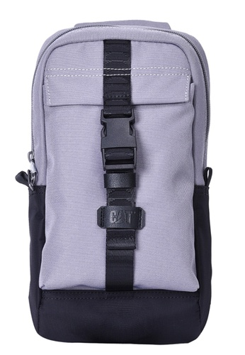 Caterpillar Bags & Travel Gear grey Tracks Sling Bag CA540AC2VR9YHK_1