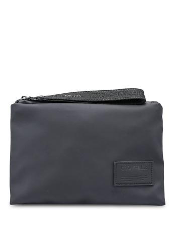 CRUMPLER black Nori Pouch Bag 137A5ACE996588GS_1