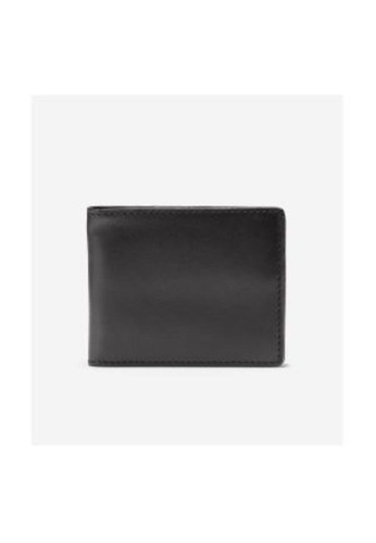 Cole Haan black Cole Haan Smooth Leather Slim Bifold - Black 608B0AC778E7E2GS_1
