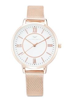 9ac3dd2b22 Victoria Walls Watches gold Designer Watch-Elegant Milanese Mesh Strap  02315ACC007B5EGS 1