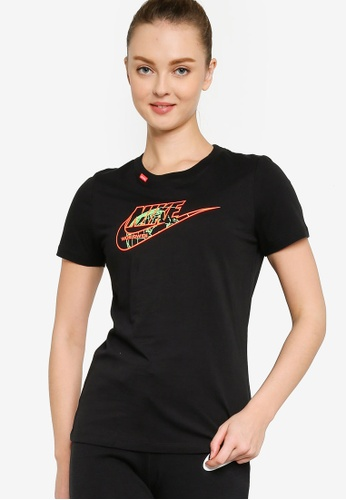 Nike black Sportswear Worldwide 1 T-Shirt ED39FAA8BB2FCDGS_1