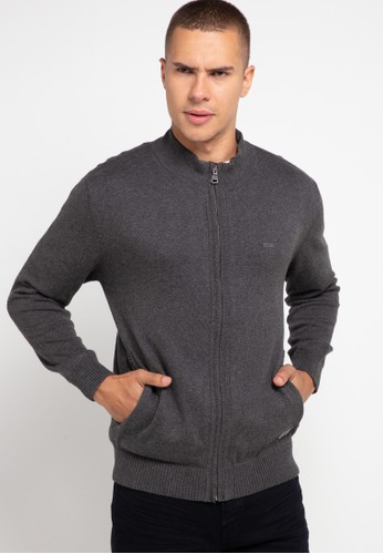 Andrew Smith grey Knitted Jacket 5C3B7AAA539428GS_1
