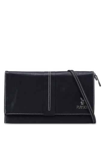 Playboy black Playboy Clutch Bag 589C7AC974DC1CGS_1