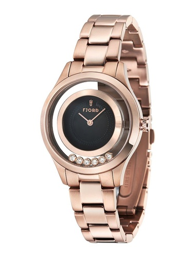 Fjord gold Fjord KARIN FJ-6021-44 Women's Rose Gold Solid Bracelet<br /> Watch A790AAC0987E6EGS_1
