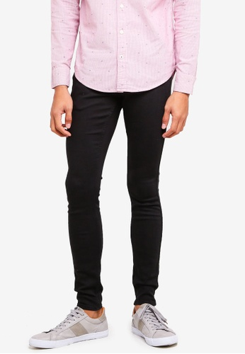 Hollister 黑色 Skinny Black Jeans 586BCAA86FE067GS_1