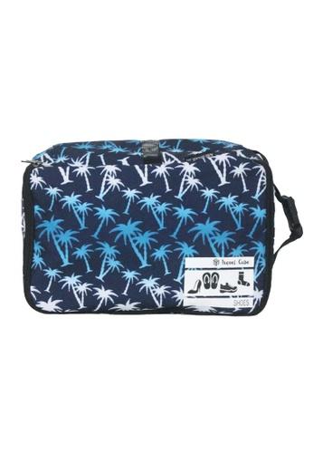 The Venture Pack blue Travel Cube Shoe Bag, Palm Trees TH335AC0K2AQPH_1