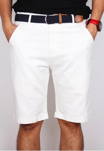 Moley white Men Classic Bermudas 613F7AA441D400GS_1