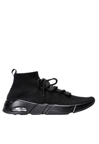 Twenty Eight Shoes black Knitted Socks Sneakers VM1806 A5B9CSH6A4C6F9GS_1