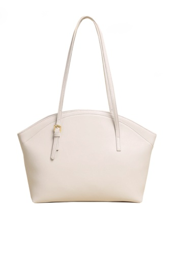Twenty Eight Shoes white VANSA Simple Leather Tote Bag VBW-Tb9943 C0BBEAC0E0B38BGS_1