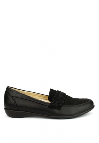 Cardam's Lifestyle black Pansy Loafers CA993SH10AOBPH_1
