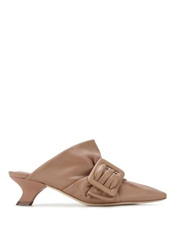 RABEANCO 粉紅色 RABEANCO SANDRA 中跟涼鞋 - 蝦肉色 4A197SH5147DADGS_1