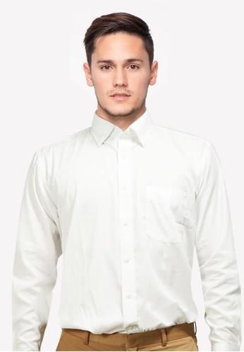 RICCIMAN white Ricciman Regular Fit Shirt Long Sleeve White L-PK80131-PT A43F3AA402A291GS_1