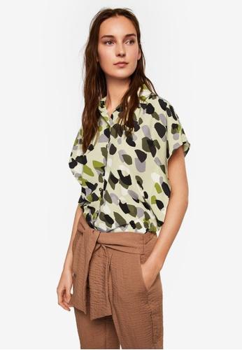 Mango beige Camo-Print Shirt 32579AAB637F4FGS_1