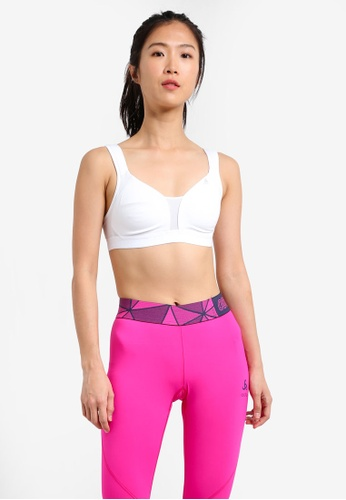 Odlo white Comfort High Sports Bra OD608US0S10WMY_1