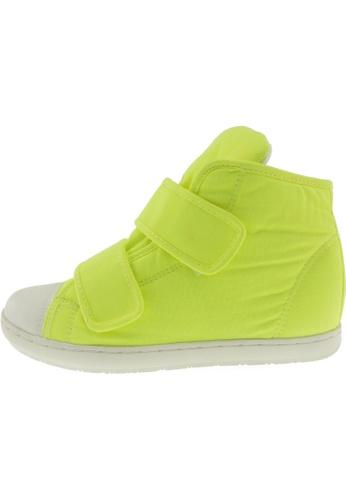 Maxstar 綠色 新款韩国鞋203H-2Band時尚帆布布混合女綠色 US Women Size MA345SH80GXVTW_1