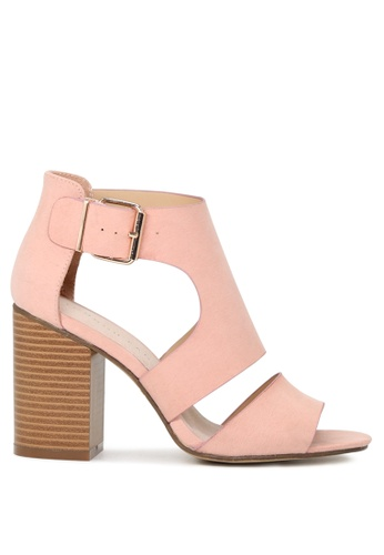 London Rag 粉紅色 Sheila 扣带凉鞋 3F565SH9FBEB20GS_1