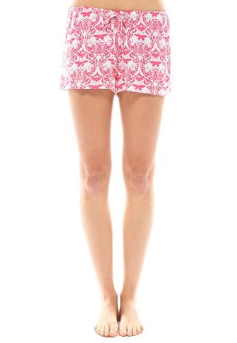 Hope 佩斯利印花短褲(zalora 包包 ptt袋裝), 服飾, 服飾