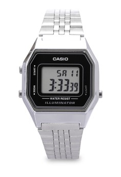 Square Digital Watch LA680WA-1DF