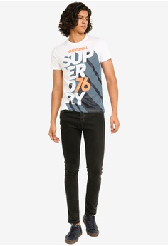 bc857acf 20% OFF Superdry Retro Lite Tee S$ 69.00 NOW S$ 54.90 Sizes XS S M L XL