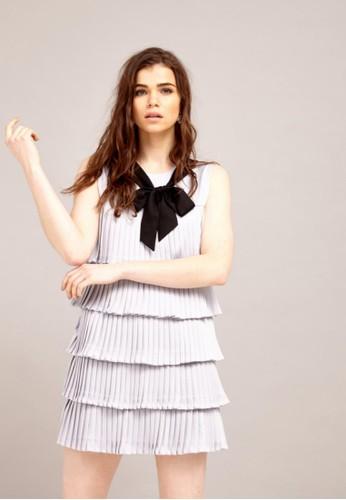 層次洋裝, 服飾, 短zalora 手錶洋裝