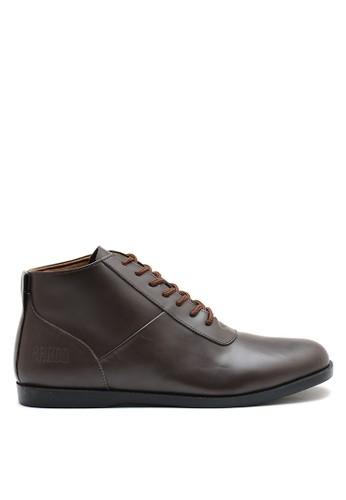 Brodo brown BRODO - Sepatu Pria Mappa Brown Black Sole 8CFBDSH9F5850FGS_1