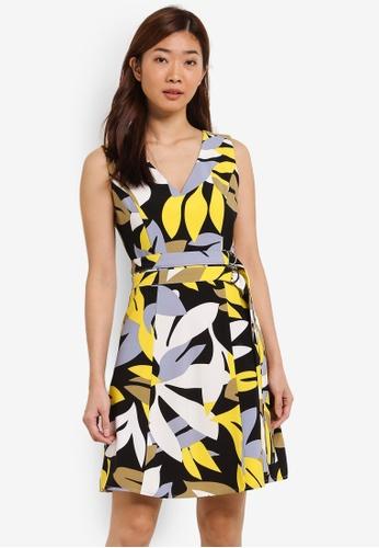 ZALORA multi Double D-Ring Dress 63C82AA8E037C6GS_1