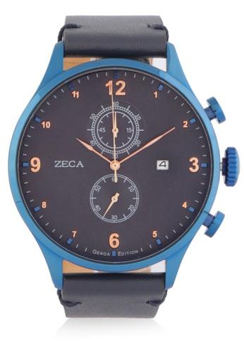 ZECA blue Zeca Watches Man Fashion - 2017M Navy Blue ZE074AC0WDAJID_1