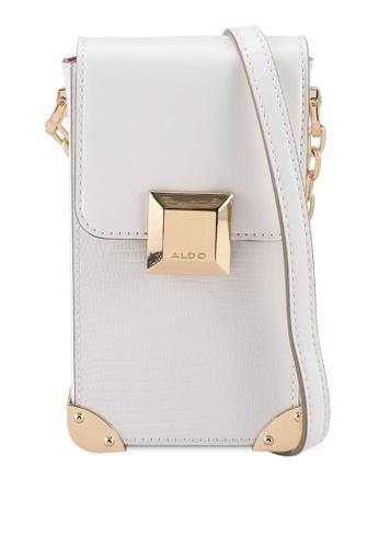 ALDO white Anesbury Crossbody Bag 4B79AAC8F0FF4DGS_1