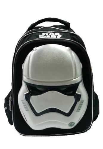 Star Wars black Disney Star Wars Stormtrooper Eva Molded Teen Backpack C807CKC21D7CFBGS_1