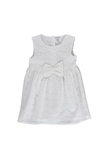 LC Waikiki white Baby Girl's Lacy Dress F6584KAFE45781GS_1
