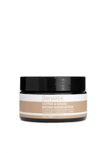Sensatia Botanicals n/a Sensatia Botanicals Coffee & Cacao Brown Sugar Scrub - 100 gr E3306BE96FAE71GS_1