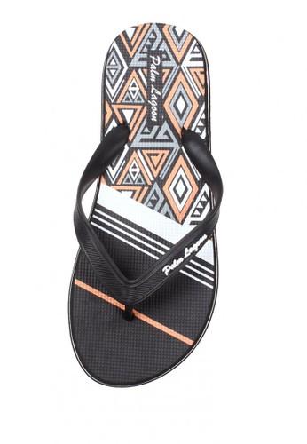 Palm Lagoon black Sandal & Flip Flop Geometric TRIANGLE I BLACK 25AF0SH5116D1AGS_1