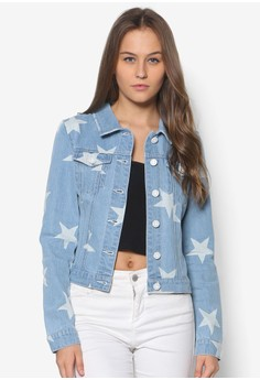 Debra Denim Star Jacket