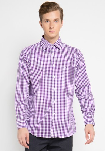 Pierre Cardin Apparel purple Shirt Long Sleeve Technoshirt PI754AA0UIUDID_1
