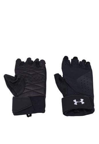 Under Armour black Women's Weight Lifting Glove 604D2AC4F13817GS_1