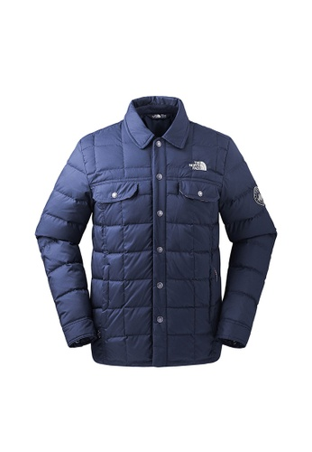 55650125248 The North Face navy The North Face Men Snow Down Winter Jacket (Urban Navy)
