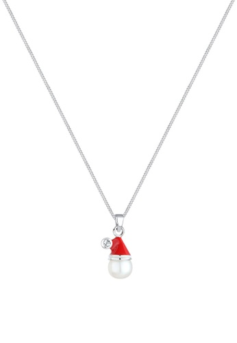 ELLI GERMANY red Necklace Santa Claus EL474AC0SEUSMY_1