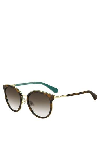 Kate Spade brown Adayna/F/S Sunglasses 80354GL99B3723GS_1