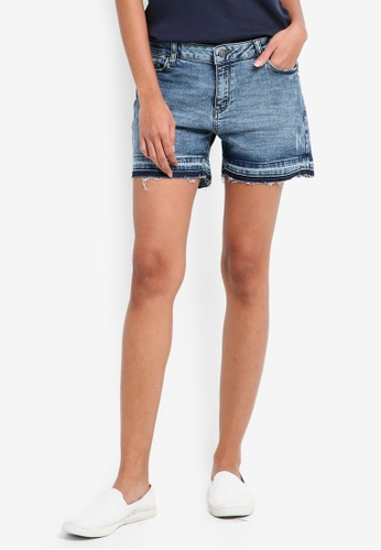 ESPRIT blue Denim Shorts CD7FEAA352C273GS_1