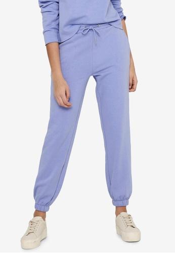JACQUELINE DE YONG blue Cathrin Life Sweat Pants ED407AA942F8C5GS_1