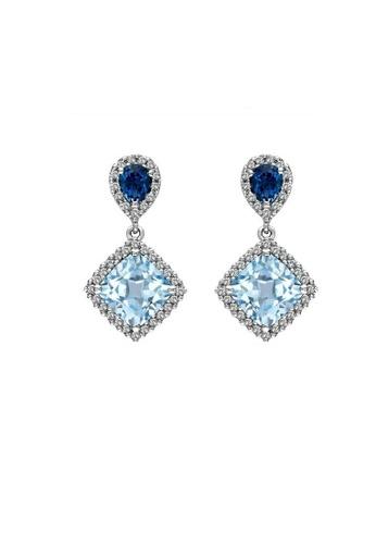 ADORA multi 925 Silver Dangle Earrings D52BBAC7E46082GS_1