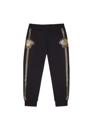 Versace black VERSACE BOYS LONG PANTS FE673KAF88419EGS_1
