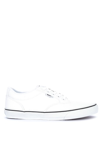 VANS white Black Foxing Winston Sneakers F4221SH2F5907BGS_1