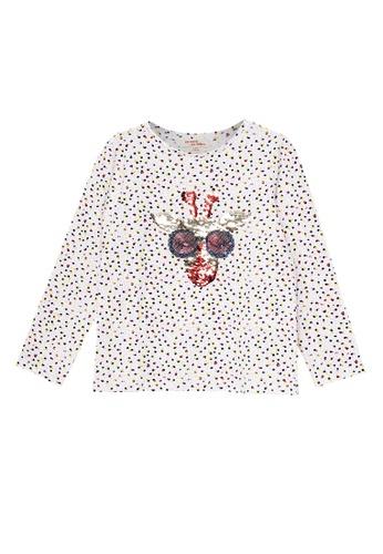 Du Pareil Au Même (DPAM) white Graphic T-shirt 9E853KA1AC675DGS_1