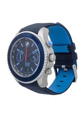67803e36f7c3c Buy Ice-Watch Ice-Watch BMW Motorsport Steel Chrono - Dark   Light Blue  (Extra Large) Online
