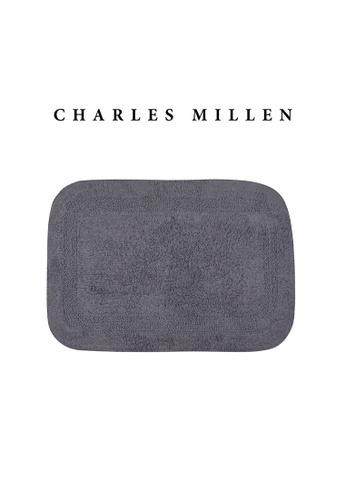 Charles Millen SET OF 2 Charles Millen Suite BR-159 Charlie Tufted Bath Rug ( 43cm x 61 cm ) 550g. B430EHL06CB7D0GS_1