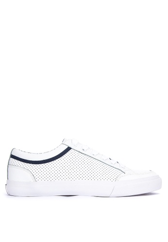 MARKS & SPENCER white Lace-up Trainers 454AASHE45D234GS_1